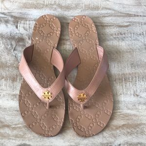 6581720b710 Tory Burch Shoes - Tory Burch Monroe Flip Flop  Light Makeup  9.5